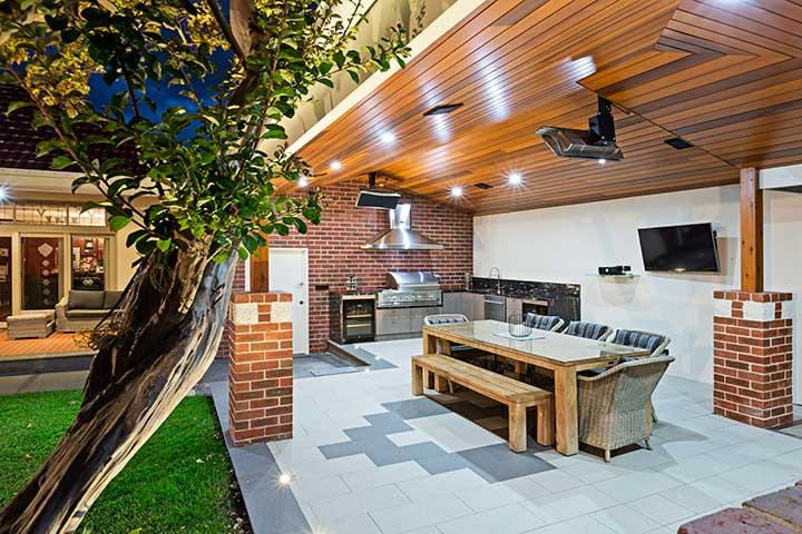Alfresco Designs & Builders Melbourne - The Outdoor ... on Small Backyard Entertainment Area Ideas id=31818