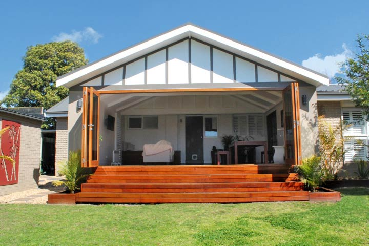 Luxury Melbourne Home Extensions & Builders | Custom ... on Unique Outdoor Living id=42574